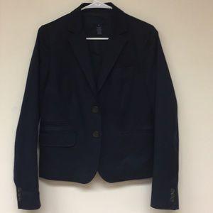 J Crew Navy Blazer Size 6